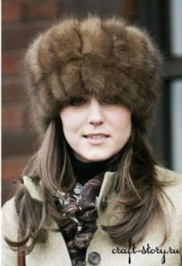 russian hat of kate middleton